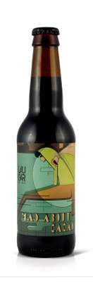Laugar / Frontaal-Mad About Cacao  | Stout, Imperial Stout