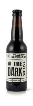 Tempest Brewing-In The Dark We Live  | Ale, Black IPA