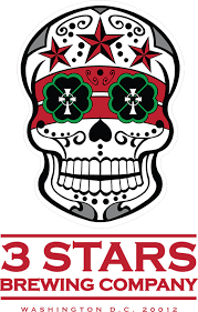 3 Stars Brewing logo