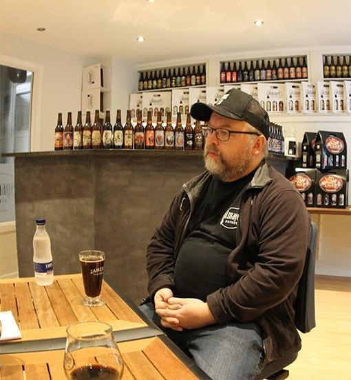 Henrik Papsø is the Head of Communication at Amager Bryghus